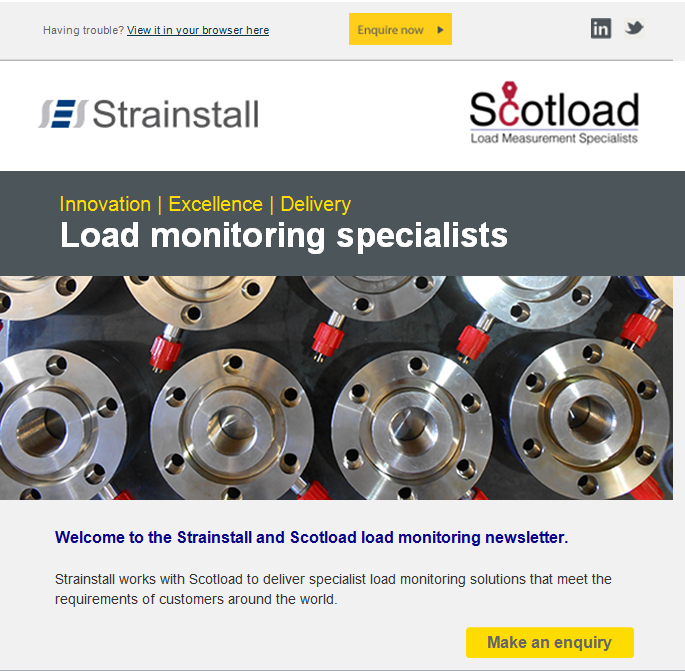 Scotload newsletter